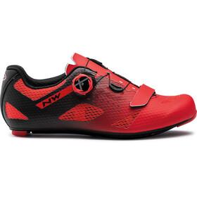 Northwave Storm Carbon Shoes Men, red/black